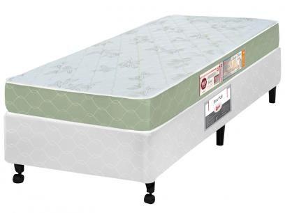 Cama Box Solteiro + (Box + Colchão) Castor - 41cm de Altura Sleep Max com as melhores condições você encontra no Magazine Jsantos. Confira!