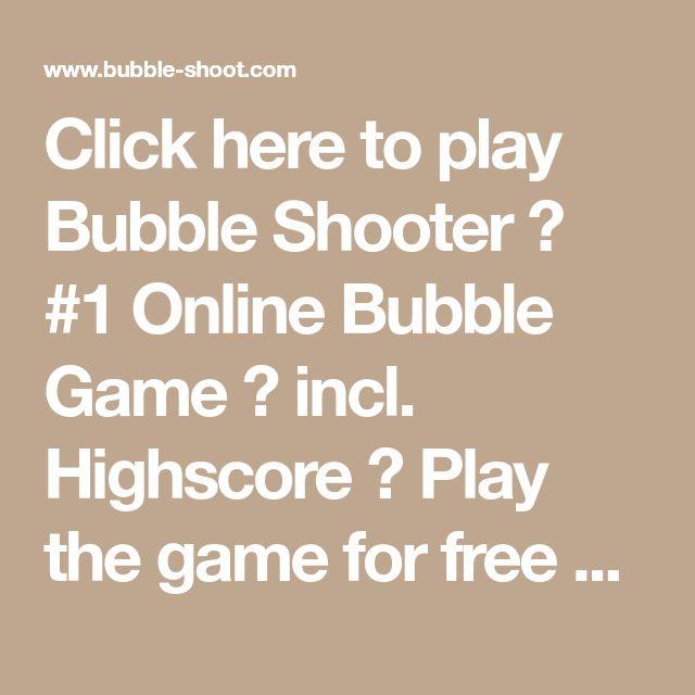 Bubble Shooter 3 Highscore