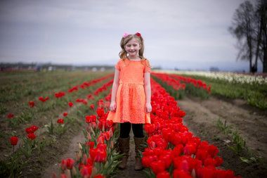 Spring in Oregon means tulips!