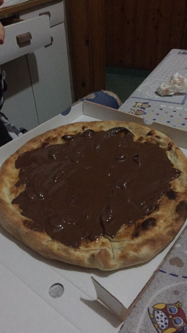 #pizza #nutella #sweet