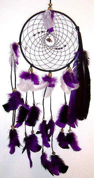 Baltimore Ravens Native American Inspired DreamCatcher