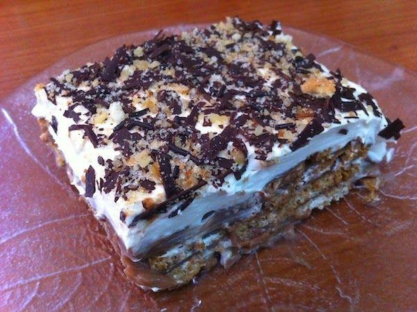 Daddy Cool!: θεϊκό μπισκοτογλυκο σα τούρτα!