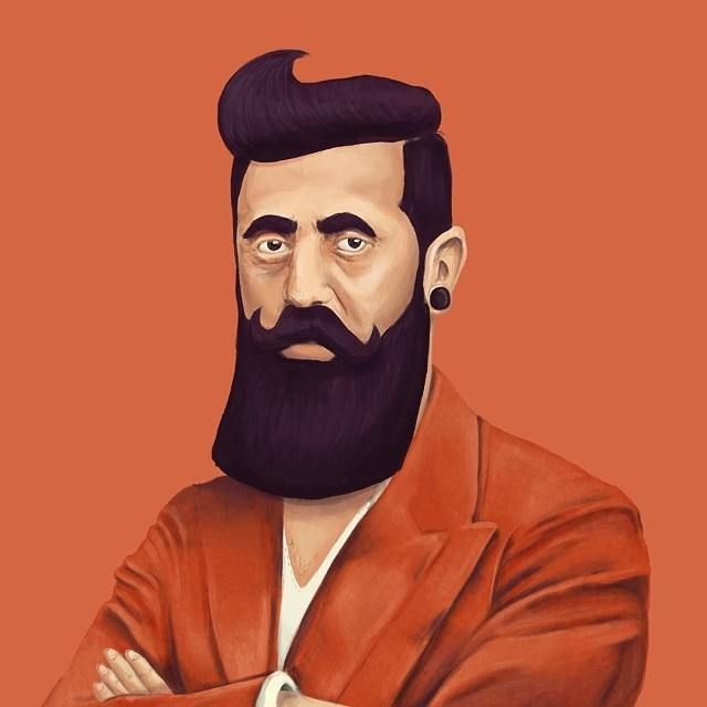 Theodor Herzl  This Creative Artist Re-Imaged 18 World Leaders As Hipsters • Page 3 of 5 • BoredBug