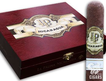 La Palina Nicaragua Oscuro cigars for sale. La Palina heads to Nicaragua for the first time, teaming with A.J. Fernandez for a totally new experience. La Palina's expansion to Nicaragua was well worth the wait. And to commemorate the new experience, the cigars take on a whole new look. Check out the brand's new logo and redesigned packaging with La Palina Nicaragua!