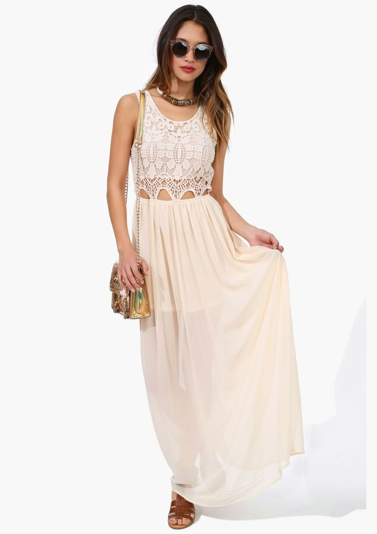 Crochet Maxi Dress : CROCHET MAXI DRESS My Style Pinterest