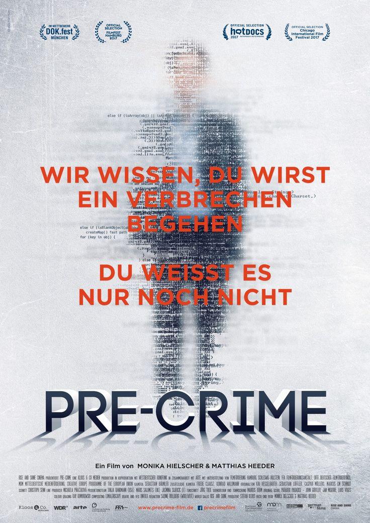 """Pre-Crime ein Film von Matthias Heeder und Monika Hielscher. Inhaltsangabe: Der Sci-Fi-Film """"Minority Report"""", in dem Verbrechen vorhergesagt werden können, ist Realität: Bei der Methode """"Predictive Policing"""" wird prognostiziert, wann und wo ein Verbrecher...."""