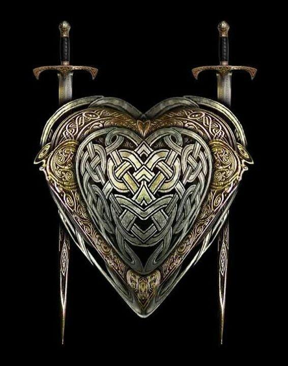 Viking swords and shield