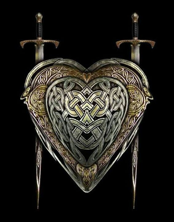 Allow me to show you the weapons of my people, the vikings.Celtic Designs, Celtic Art, Celtic Heart, Brian Giberson, Warriors Heart, Things Celtic, Celtic Weapons, Heart Blank, Celtic Swords
