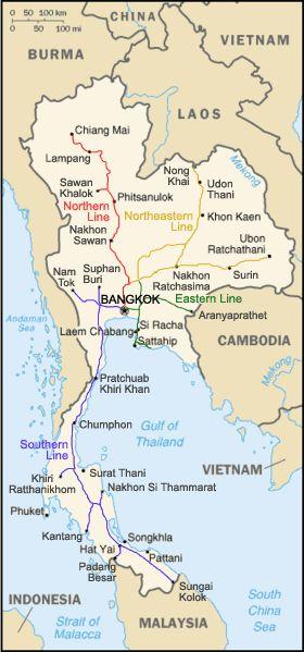 Train to Chiang Mai from Bangkok