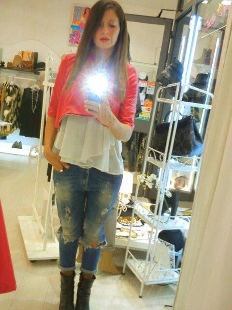 #shoppingday #red #love
