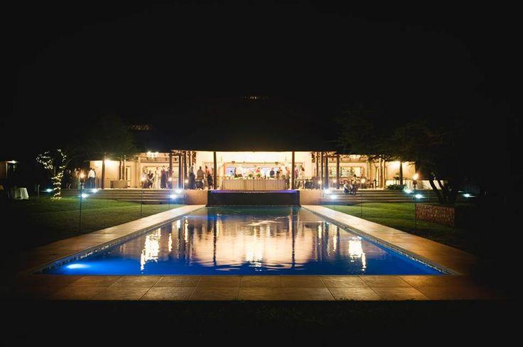 Lapeng Guest Lodge - Wedding Venue #wedding #night #lights