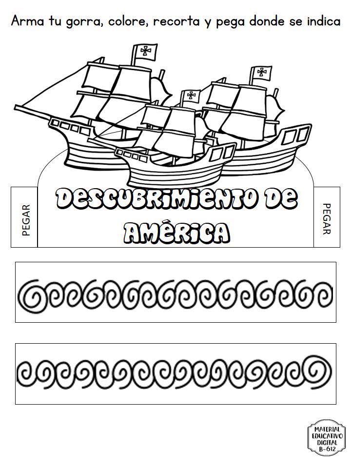 Espectacular Material Interactivo Sobre El Descubrimiento De America 12 De Octubre Educaci Material Educativo Dia De La Hispanidad Materiales Para Preescolar