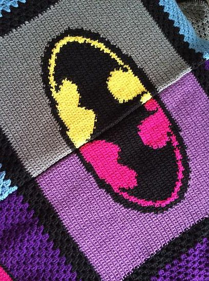 Knitting Pattern For Batman Blanket : 17 Best ideas about Crochet Batman on Pinterest Crochet ...