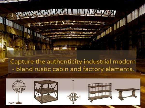 Trendy Rustic Industrial Furniture Blend Steel And Fabric Elements Quot I Love Home Decor