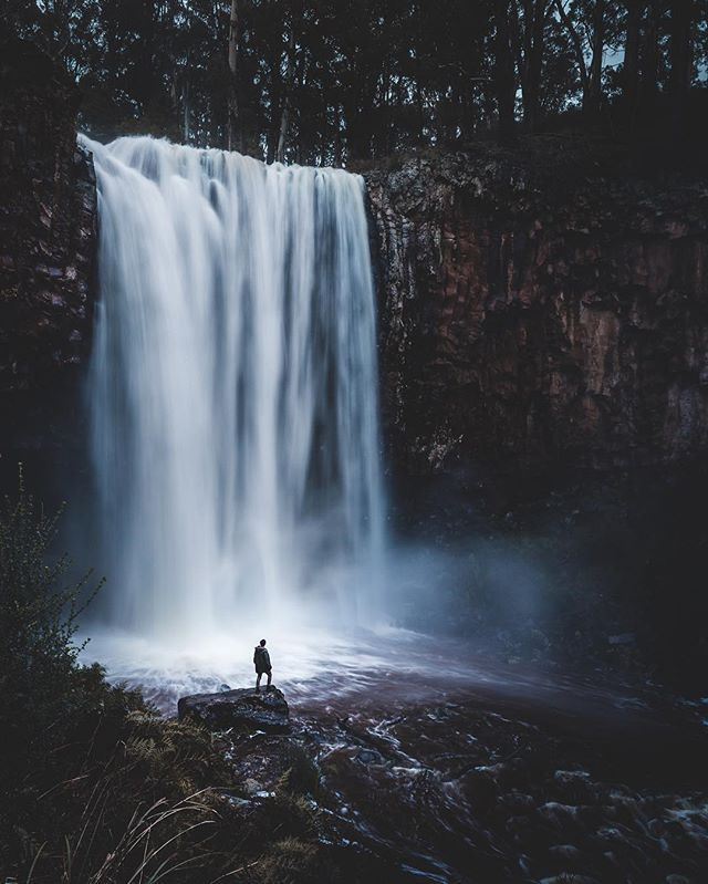 Trentham Falls, Victoria, Australia. https://thirtysummers.com/2016/10/24/things-to-do-in-trentham/