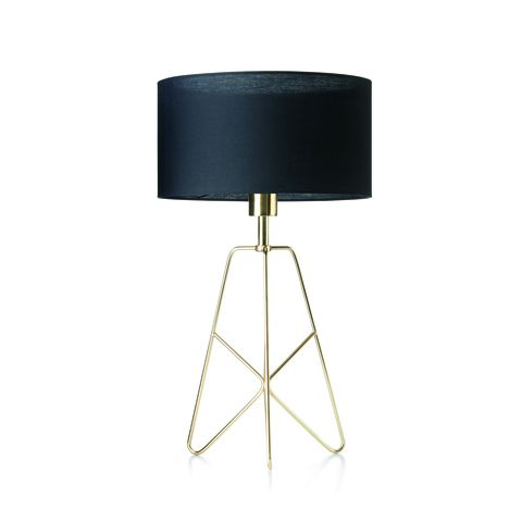 Brass Finish Table Lamp