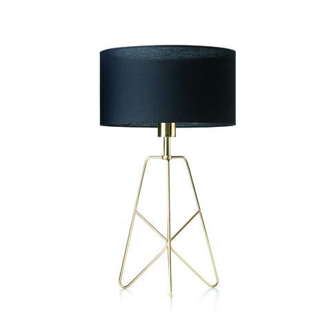 Brass Finish Table Lamp