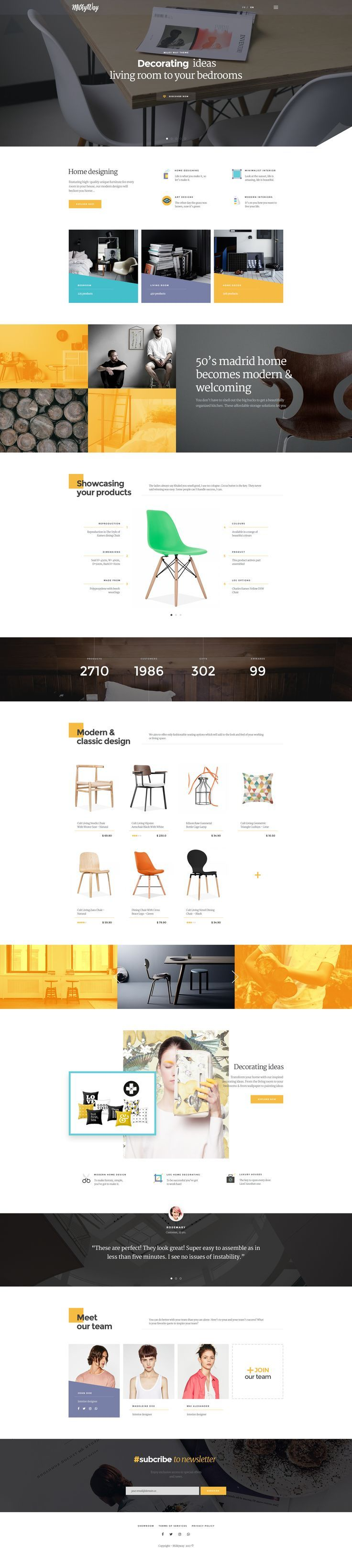 Milkyway - Creative and Ecommerce PSD Template Discover even more by going to the picture link