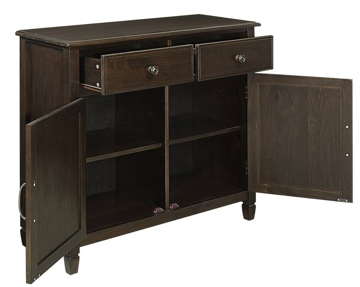 connaught 2 drawers and 2 door entryway accent cabinet cabinet drawers and doors that are left open cause a hazard and should be 24 in Wide Cabinets Drawer and Door