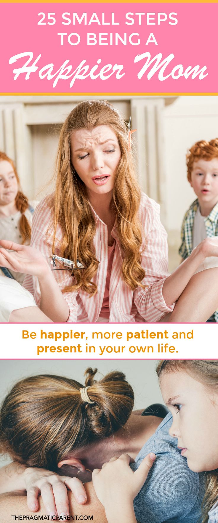 Why are you an Unhappy Mom? Sometimes we can fall into ruts of living joylessly as a Mom but if you make positive changes and change these 25 habits, you can reclaim the joy of motherhood and stop being an unhappy mom.