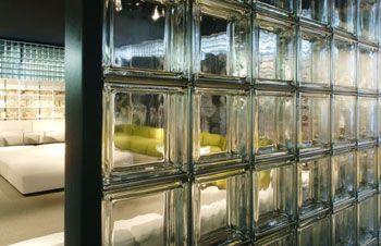 pareti19   Interiors   Gallery Gallery   Seves glassblock