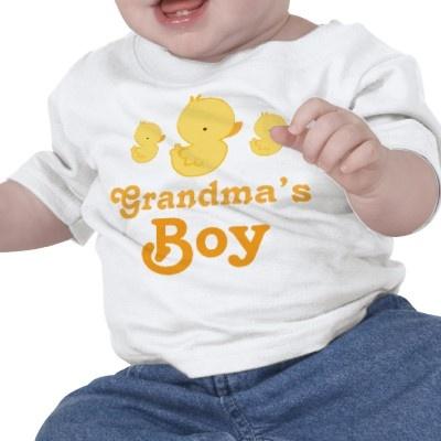 Grandma's Boy with duckies!