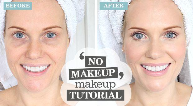 'NO MAKEUP' Makeup Tutorial!