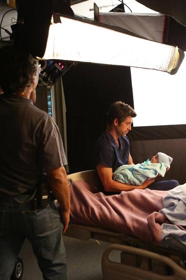 Grey's Anatomy Season 10 Premiere   Grey's Anatomy Season 10: Behind-the-Scenes Photos from the Premiere ...