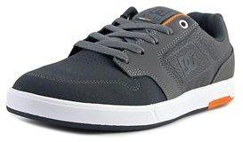 DC Nyjah Round Toe Suede Skate Shoe.