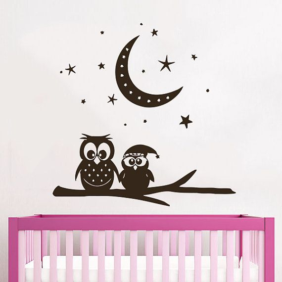 Owl Design Wall Stickers : Best ideas about owl wall decals on girl