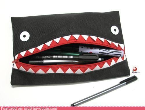 monster pencil case