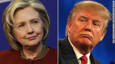 Donald Trump and Hillary Clinton register net negative ratings in double digits, indicating the front-runners for each party's presidential nominations are viewed negatively at historic levels, according to a new CBS/New York Times poll.