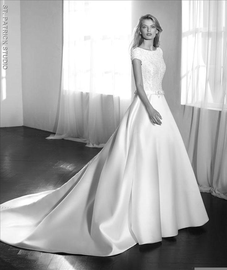 12 best Brautkleider St. Patrick images on Pinterest   Short wedding ...
