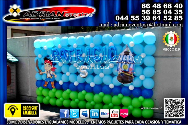 decoracion con globos para fiestas infantiles decoracion de jack y los piratas globos de jack y los piratas decoracion de fiestas infantiles