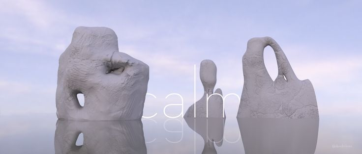 #Calm #Zbrush #Maya #Arnold #Photoshop #GraphicDesign #3d #Yeso