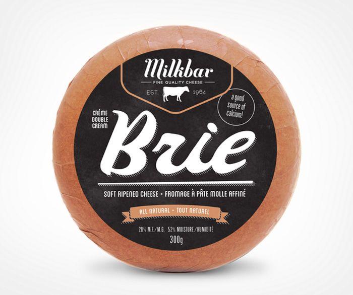 Milkbar Cheese Brie I LOVE THE DESIGN!!