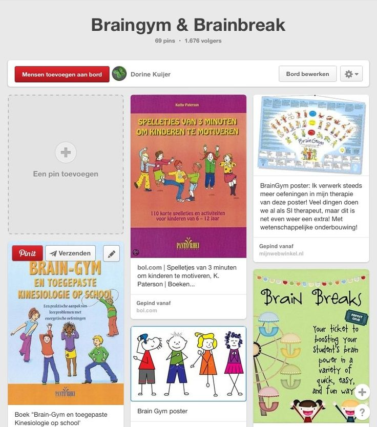 Brainbreaks & Braingym oefeningen bij de training Ik leer leren. http://www.pinterest.com/dorinekuijer/braingym-brainbreak/