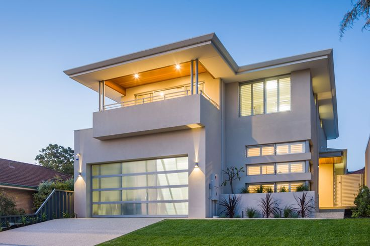Contemporary Elevation - our Merlot Display Home