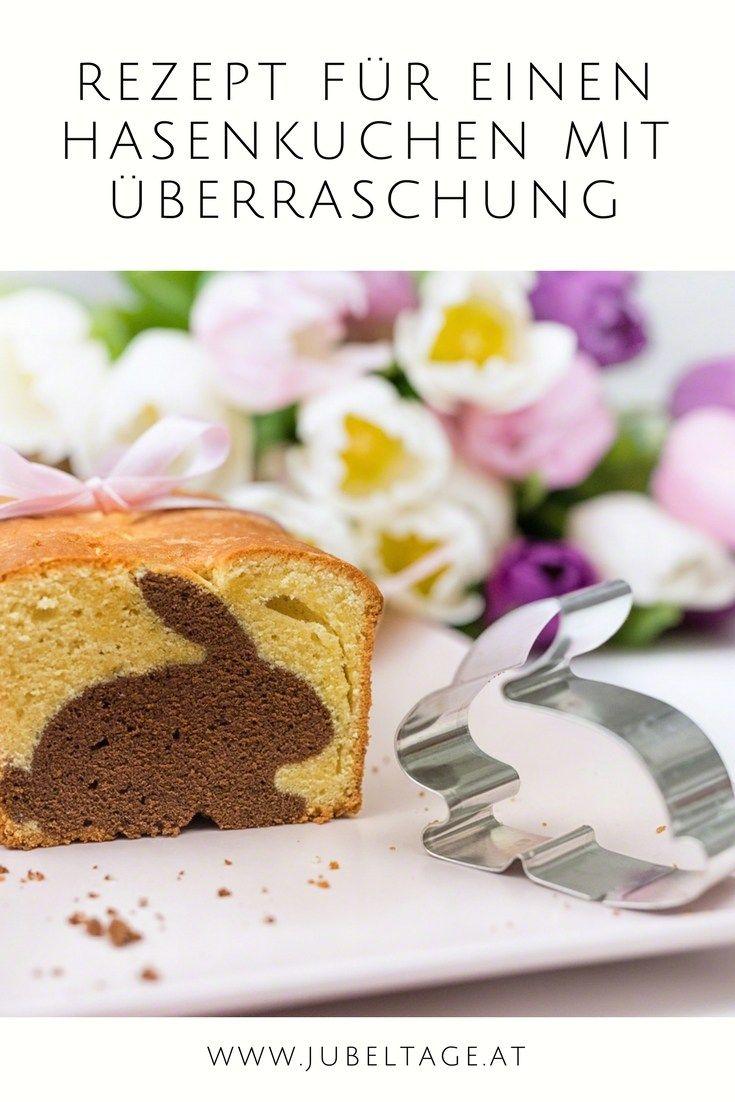 Anleitung / Rezept für einen Osterhasen-Kuchen zu Ostern