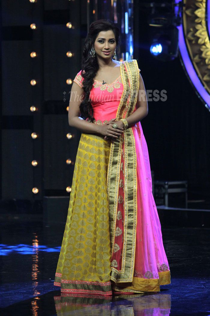 Shreya Ghoshal at Indian Idol Junior