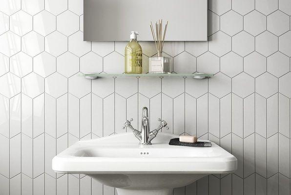 Equipe Ceramicas Chevron Wall Equipe-chevron-wall-10 , Kitchen, Bathroom, Unicolor, Ceramic Tile, wall, Glossy surface, Matte surface, non-rectified edge