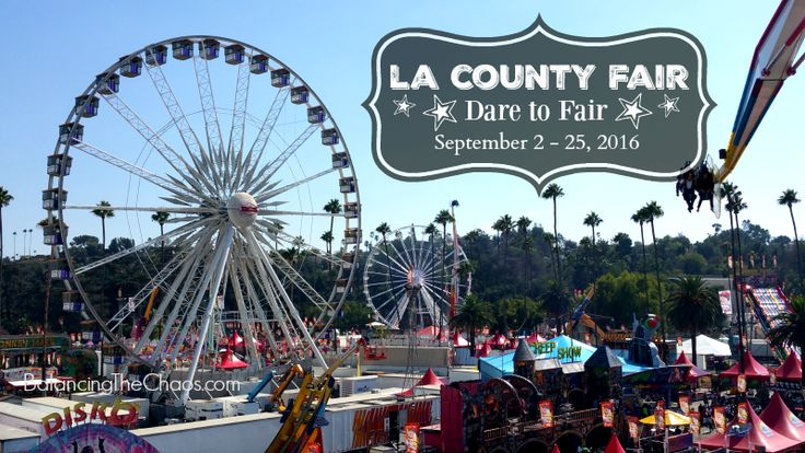 Enjoy 4 tickets to  the LA County Fair Now through Sept 25 in Giveaway