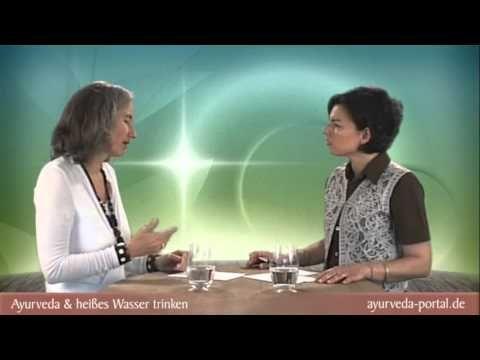 Ayurveda und heißes Wasser trinken - YouTube