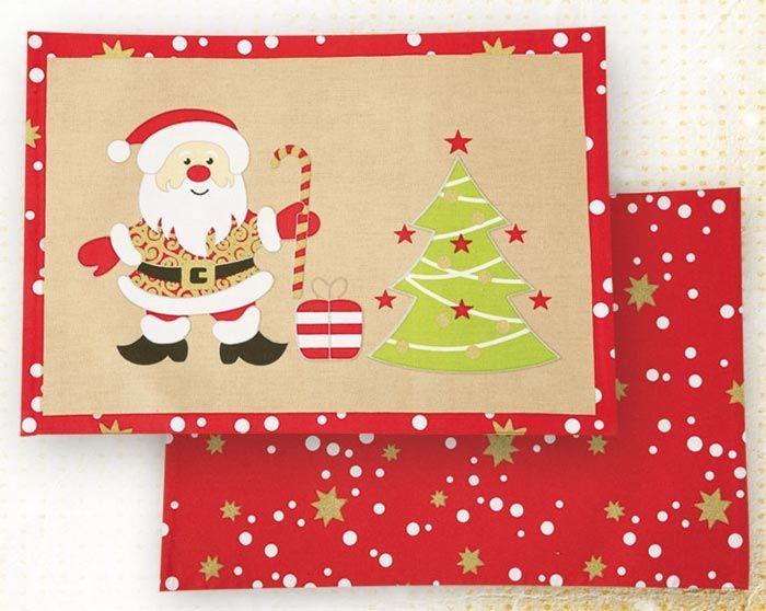 Χριστουγεννιατικα Σουπλα (2 τμχ) Nef-Nef Santa