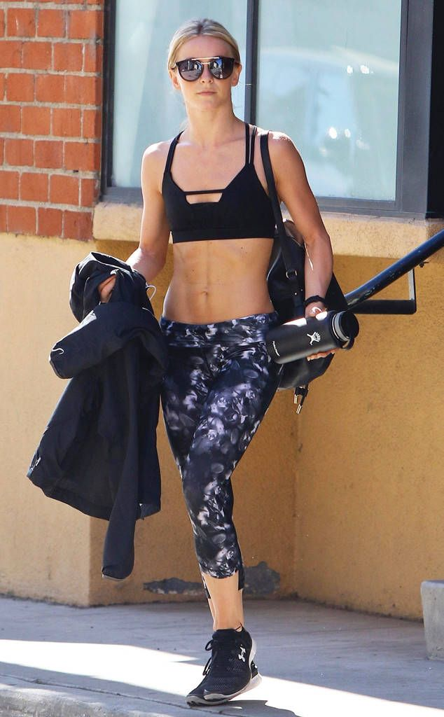 Julianne Hough from The Big Picture: Today's Hot Photos Abs for days! The fit dancer is seen showing off her toned body in Studio City.