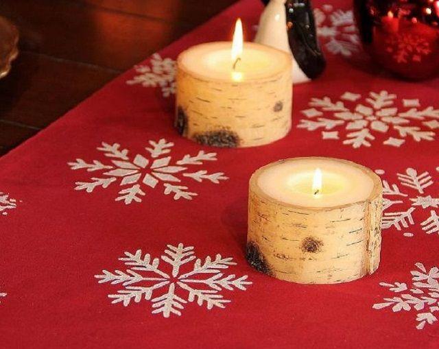 Ecco come realizzate le tovaglie natalizie fai da te con tante tecniche di decorazione semplice.