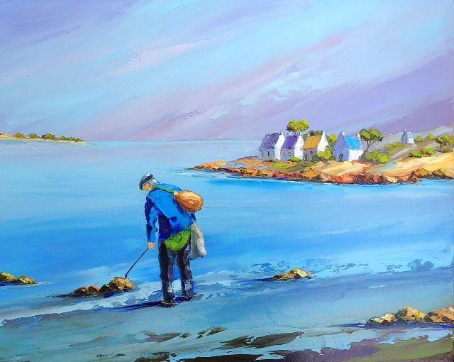 Philippe Calabro Artiste Peintre Presente La Bretagne Artiste