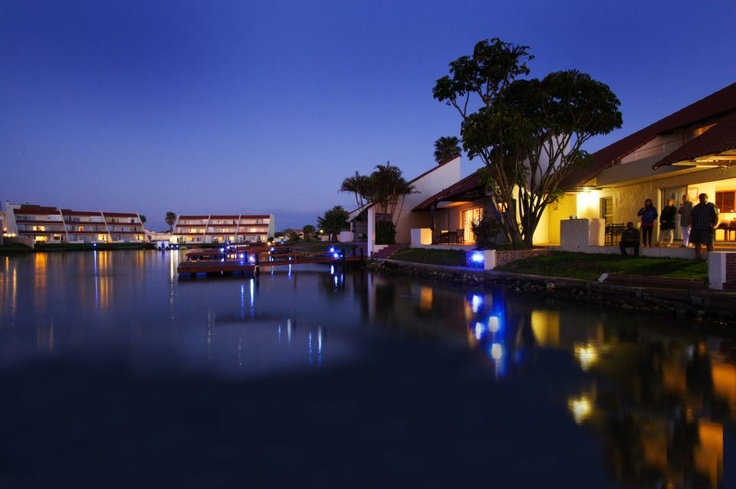 Port Owen Marina, Western Cape, South Africa. This photo was taken during a photo shoot of the resort recently