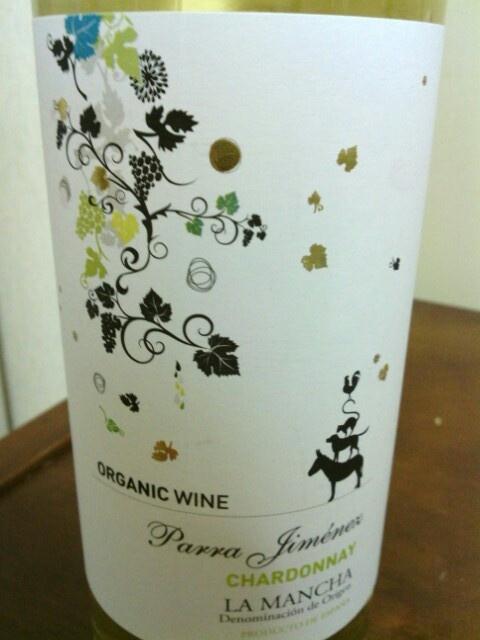 Parra Jimenez Chardonnay Organic.Castilla-La Mancha,Spain.**