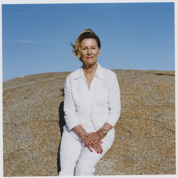 Queen Sonja or Norway by Mette Tronvoll